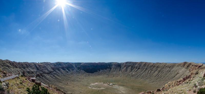 Barringer Crater巴林杰陨石坑