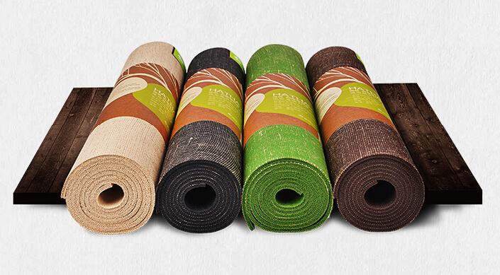 亚麻瑜伽垫
