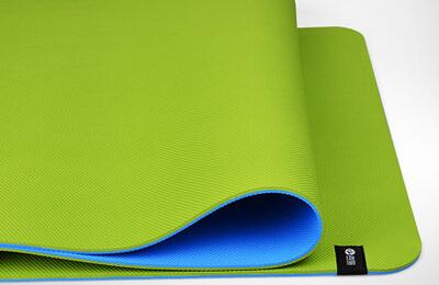 青鸟tpe双层6mm瑜伽垫