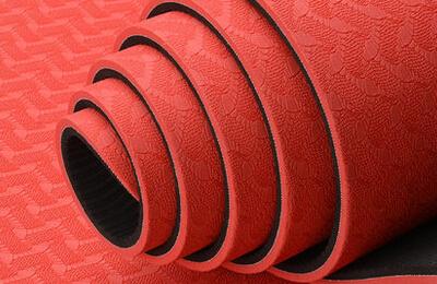 青鸟双层tpe瑜伽垫