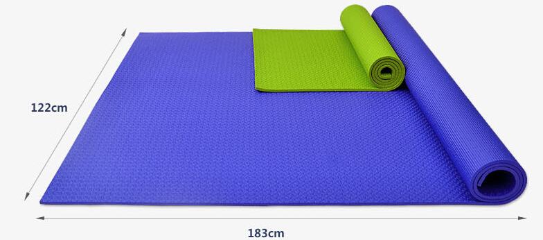 2倍标准瑜伽垫的宽度