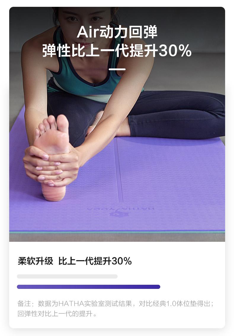 瑜伽垫弹力提升30%